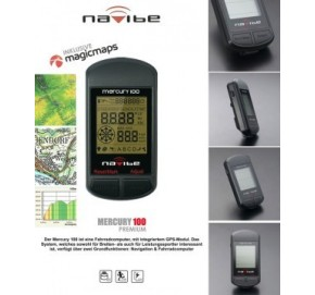 Navegador Navibe Mercury 100 Prem con Magic Maps